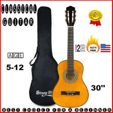 kids beginners Classic Guitar for small hands boys girls age 5 6 7 8+ with case
