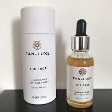 Tan Luxe - THE FACE - Illuminating Self-Tan Drops 30ml - Light / Medium