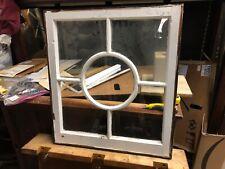 c1890 vintage unique fenestration window sash frame victorian age 26�w x 29� h