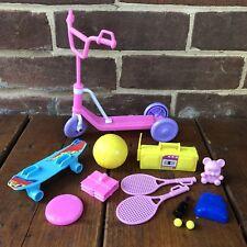 Vintage Barbie 1992 Mattel My Sister Stacie Gift Set #9365 Scooter Skateboard