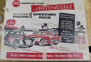 Gilbert American Flyer Auto Rama Speedway Race #19083