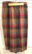 Vintage Talbots Pencil Straight Skirt Wool Blend Women's Lined 12 P USA