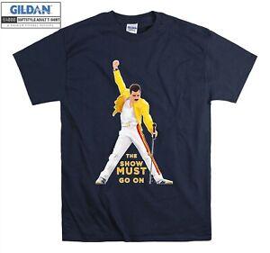 Queen Freddie Mercury T-shirt British Snger T shirt Men Women Unisex Tshirt 5972
