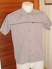 Chemise manche courte coton polyester  gris DIESEL S/M ou 36/38