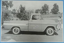 "12 By 18"" Black & White Picture 1957 Cameo Truck"