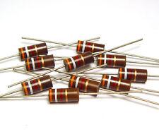 10x Allen Bradley Kohlemasse Widerstand 3900 Ohm / 3.9 kOhm, 2 Watt