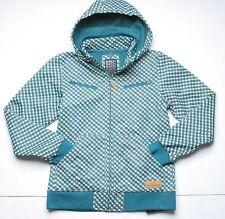 Burton Emma Softshell Jacket (M) Spruce Check A Dot