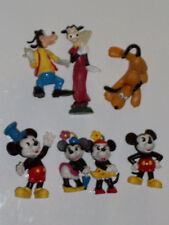 DISNEY'S MICKEY MOUSE AND FRIENDS PVC FIGURE SET OF 6 MINNIE(COMIC FIGURINE BUST