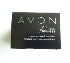 Brand New Avon, Ideal Flawless Matte Mousse Foundation, Nude,18g