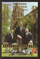 2002 LaSalle Explorers Football Magnet Schedule