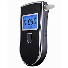 Police Digital Breath Alcohol Tester Professional Breathalyser Detector Portable