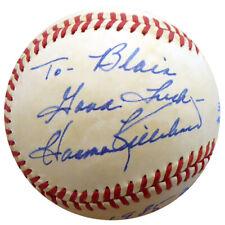 "Harmon Killebrew Autographed AL Baseball Twins ""To Blair"" Beckett COA E95426"