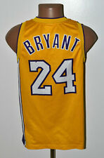 NBA LOS ANGELES LAKERS BASKETBALL SHIRT #24 BRYANT CHAMPION SIZE XS ADULT