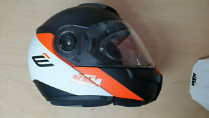 SCHUBERTH E1 Gravity Motorrad Helm im KTM Design Gr. 61