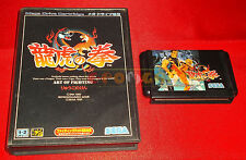 ART OF FIGHTING Sega Mega Drive Versione NTSC Giapponese ○ SENZA MANUALE - DR