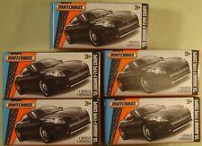 """Matchbox '15 Jaguar F-Type Coupe black """"Power Grabs"""" 2015 lot (5)"""