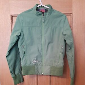 Girls Lime Green Jacket by Scott Size XS approx 8 - 10 Years