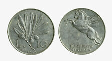 pcc2137_56) Italia Repubblica in Italma - 10 lire 1948 Ulivo