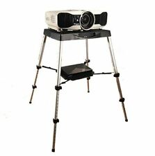 Portable Projector Stand Table Outdoor Yard Movie Presentation Home Theater Case