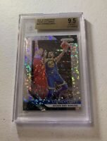 STEPHEN CURRY 2018-19 PRIZM FAST BREAK SILVER PRIZM BGS 9.5 GEM MINT WARRIORS