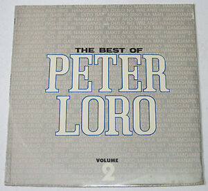 Philippines The Best Of PETER LORO Volume 2 SEALED OPM LP Record
