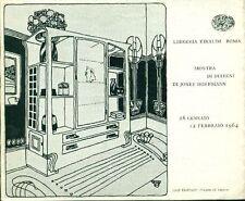 HOFFMANN Josef, Mostra di disegni di Josef Hoffmann