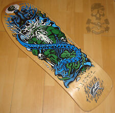 SANTA CRUZ Jason Jessee Signed - Skateboard Deck - Neptune  Re Issue - Screend