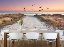 Vacation by the Sea Photo Wallpaper Wall Mural DECOR Paper Poster Free Paste