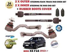 Per BMW X5 F15 2013 - > 2X 2X + interno esterno Rack Sterzo Pista Tirante Fine + Boot