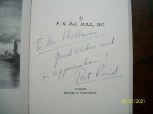 Colditz, The Latter Days, signed by Pat Reid, 1st Edition 1953