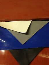 """High Temp FDA 12"""" x 12"""" Gray Silicone Rubber Sheet 1/64"""" thick - 40 Durometer"""
