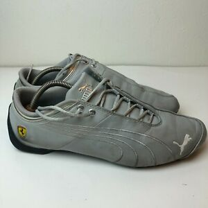 Puma Mens Gray Low Top Lace Up Football Athletic Sneaker Shoes Size US 11.5