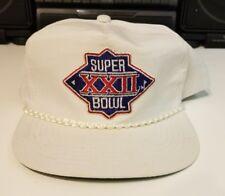 WASHINGTON REDSKINS SUPER BOWL XXII YOUNGHAN    90'S HAT CAP VINTAGE SNAPBACK