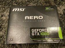 MSI Gaming GeForce GTX 1080 AERO 8G OC GDDR5 DirectX 12 VR Ready Graphics Card