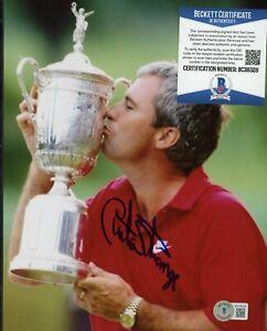 Curtis Strange Golf Signed 8x10 Photo AUTO Autograph Beckett BAS COA