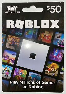 Roblox physical Gift card free roblox vitual item  Robux Game Fast Shipping New