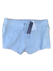 Ocean Drive Burnout Baby Blue Shorts Size L NWT