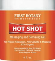Hot Shot Slimming Gel and Massaging Gel 4  oz