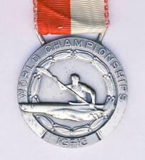 1973 CANOE World Championships SILVER 2nd Place WINNER´S MEDAL Slalom ICF RARE