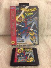 Spider-Man/X-Men: Arcade's Revenge (Sega Genesis, 1993) W/Box