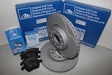 ATE Powerdisc Bremsscheiben + Ceramic Beläge Vorderachse(VA) für SKODA SUPERB II