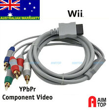 Wii Wii U Console Output to Component YPbPr HD TV Cable
