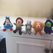 Wizard of OZ Plush Toys, Complete Set, Turner Entertainment