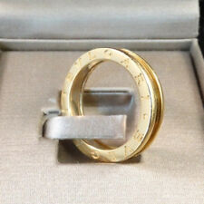 Bulgari B.Zero 18 Karat Yellow Gold Band Ring Size 58/8.5 w/ Box