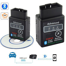 OBD2 ELM327 Bluetooth Scanner Reader Adapter V1.5 Auto Car Diagnostic Scanner