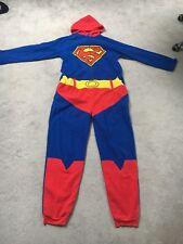 Nuevo Superman Todo en Uno Polar Pelele Mono Hombre Talla M Navidad Presente