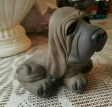 Cute puppy   mold for plaster or concrete LATEX ONLY