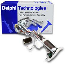 Delphi Fuel Pump & Sender Assembly for 1988-1995 GMC K1500 4.3L 5.0L 5.7L V6 lo