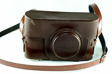 Leather Case ESOOG/14500 for Leica If with Elmar 50mm lens & detachable rgfdr