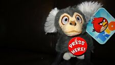 "Angry Birds RIO Plush 6"" Monkey with sound 2011 Commonwealth,age 1+"